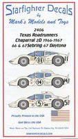Starfighter 1/24 Texas Roadrunners Part 3 2D for FJM