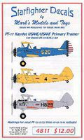 Starfighter PT17 Kaydet USAAC/USAAF Primary Trainer 1940-46 for RMX Model Aircraft Decal 1/48 #4811