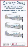 Starfighter 1/48 SBD Dautless at War in the Pacific 1942-43 for ATE