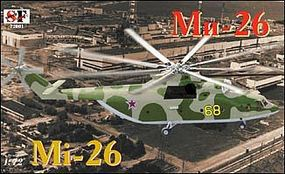 South-Front Mi26T Halo Soviet Helicopter Plastic Model Helicopter Kit 1/72 Scale #72001