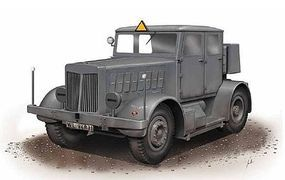 Special SS100 Gigant Schwerer Radschlepper Tractor Plastic Model Military Truck Kit 1/72 #172001