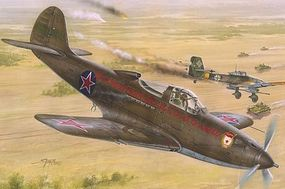 Special P39N/Q Soviet Guards Regiments Fighter Plastic Model Airplane Kit 1/32 Scale #32028