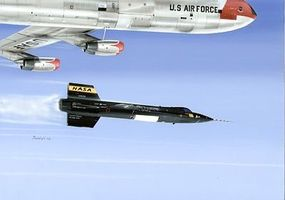 Special X15-1 Early Short Version NASA Aircraft Plastic Model Airplane Kit 1/32 Scale #32029