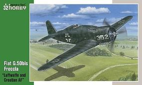 Special Fiat G50bis Freccia WWII Fighter Plastic Model Airplane Kit 1/32 Scale #32058
