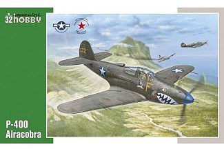 Special P400 Airacobra Fighter Plastic Model Airplane Kit 1/32 Scale #32062
