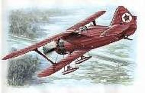 Special Polikarpov I15 Red Army Fighter with Skis Plastic Model Airplane Kit 1/48 Scale #48023