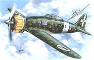 Special Hobby Aermacchi C200 Saeta Bubble Canopy Italian Fighter -- Plastic Model Airplane Kit -- 1/48 -- #48033