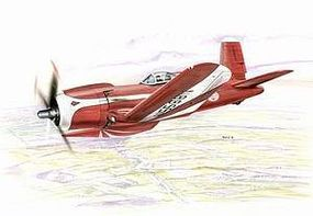 Special F2G Super Corsair Racing Aircraft Plastic Model Airplane Kit 1/48 Scale #48049