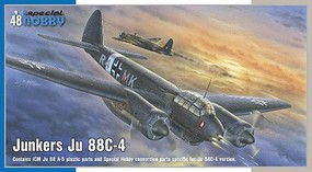 Special 1/48 Junkers Ju88C4 Intruder Aircraft (New Tool)