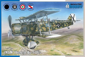 Special IMAM (Romeo) Ro37bis Italian Fighter Plastic Model Airplane Kit 1/48 Scale #48185