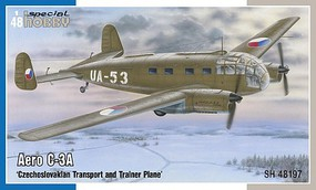 Special 1/48 Aero C3A Czech Transport/Trainer Aircraft