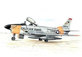 Special F86L Sabre Dog US Fighter w/Long Wing Plastic Model Airplane Kit 1/72 Scale #72144