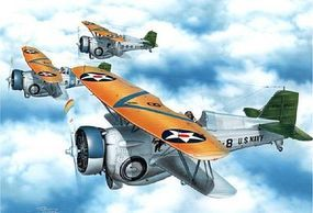 Special Hawk FB2C1 USN BiPlane Fighter/Bomber Plastic Model Airplane Kit 1/72 Scale #72222