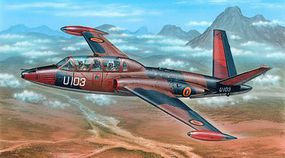 Special Fouga Magister Exotic Air Forces Jet Trainer Plastic Model Airplane Kit 1/72 Scale #72284