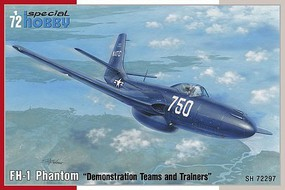 Special FH1 Phantom USN Demonstration Teams & Trainers Plastic Model Airplane Kit 1/72 Scale #72297
