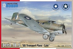 Special Delta 1D/E Late US Transport Aircraft Plastic Model Airplane Kit 1/72 Scale #72329