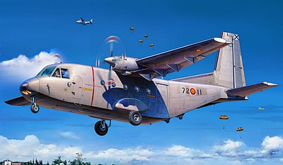 Special CASA C212-100 Aviocar Medium Transport Aircraft Plastic Model Airplane Kit 1/72 #72344