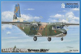 Special CASA C212-100 Portuguese Tail Arts Transport Plastic Model Airplane Kit 1/72 #72376