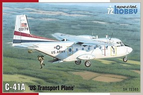 Special C41A US Army Transport Aircraft Plastic Model Airplane Kit 1/72 Scale #72385