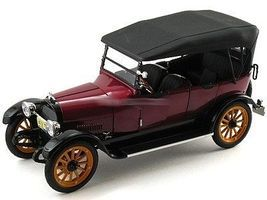 Sig 1917 REO Touring (Met. Burgundy) (Re-Issue) Diecast Model Car 1/18 Scale #18105