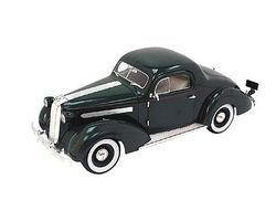 Sig 1936 Pontiac Deluxe 6 (Green) Diecast Model Car 1/18 Scale #18106