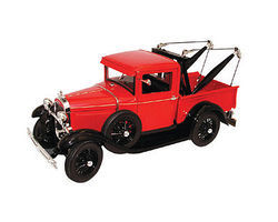 Sig 1931 Ford Model A Tow Truck (Red) Diecast Model Truck 1/18 Scale #18116