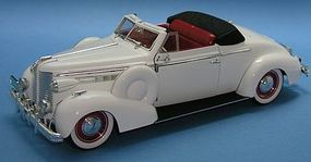 Sig 1938 Buick Century Convertible Coupe (White) Diecast Model Car 1/18 scale #18131