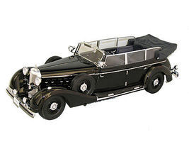 Sig 1938 Mercedes Benz 770K Pullman Limousine (Black) Diecast Model Car 1/18 scale #18135