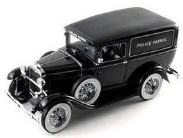 Sig 1931 Ford Panel Police Patrol Car (Black) (Re-Issue) Diecast Model Car 1/18 #18143