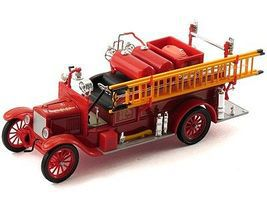 Sig 1926 Ford Model T Fire Truck (Red) Diecast Model Truck 1/32 Scale #32313