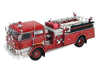1960 Mack C Fire Truck Red Diecast Model Truck 1 50