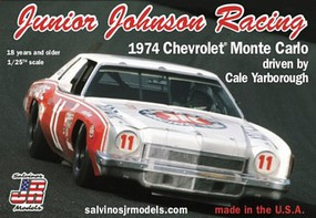 Salvinos 1/25 Junior Johnson Racing Cale Yarborough #11 Chevrolet Monte Carlo 1974 Winston Cup Winner Race Car