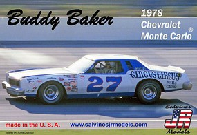 Salvinos 1/25 Buddy Baker 1978 Chevrolet Monte Carlo Race Car