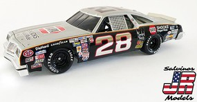 Salvinos 1/25 Buddy Baker's Gray Ghost #28 Oldsmobile 442 1980 Daytona 500 Winner (New Tool)