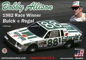 Salvinos 1/24 Bobby Allison's #88 Buick Regal 1982 Daytona 500 Winner Race Car