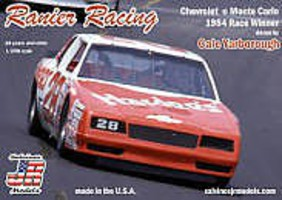 Salvinos 1/24 Cale Yarborough #28 Chevrolet Monte Carlo 1984 Daytona 500 Winner Race Car