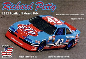 Salvinos 1/24 Richard Petty #43 Pontiac Grand Prix 1992 Fan Appreciation Tour Last Race Atlanta Race Car