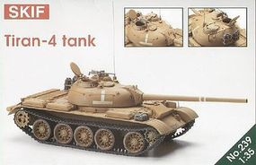 Skif Tiran 4 Tank Plastic Model Tank Kit 1/35 Scale #239