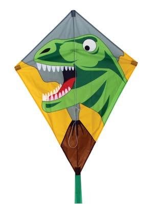 Skydog Kites Dino Diamond 26 -- Single Line Kite -- #12205
