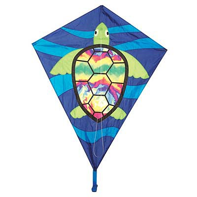 Skydog Kites 40'' Sea Turtle Diamond -- Single Line Kite -- #12236