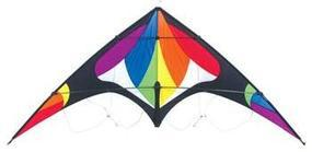 Skydog Freebird Rainbow Stunt 76 Multi-Line Kite #20430
