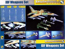 Skunk IDF Weapon Set 1-48