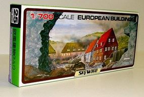 Skywave European Building Set Plastic Model Building 1/700 Scale #25