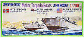 Skywave 1/700 WWII Motor Torpedo Boats (Re-Issue)