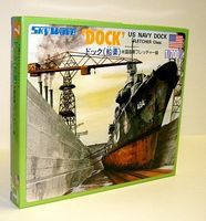 Skywave WWII US Navy Dock (D) Plastic Model Ship Accessory 1/700 Scale #7