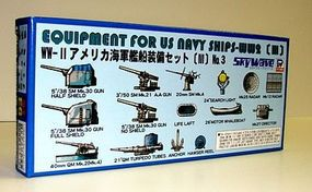 Skywave Equipment Set for US WWII Navy Ships (III) Plastic Model Ship Accessory 1/700 Scale #e6