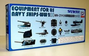 Skywave Equipment Set for US WWII Navy Ships (II) Plastic Model Ship Accessory 1/700 Scale #e9