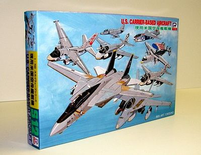 Skywave Models US Carrier Base Aircraft Set -- Plastic Model Airplane Kit -- 1/700 Scale -- #s12