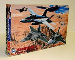 Skywave Modern US Aircraft Set #1 (22 Total) Plastic Model Airplane Kit 1/700 Scale #s21