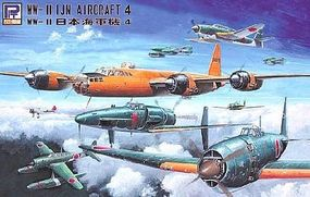 Skywave WWII IJN Aircraft Set #4 (28 Total) (D) Plastic Model Airplane Kit 1/700 Scale #s26